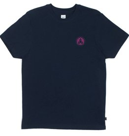 Huf Huf Checkered Triple Triangle T-Shirt - Navy