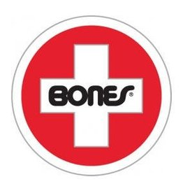 Bones Bones Swiss Round Sticker 3""