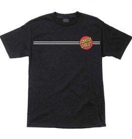 Santa Cruz Skateboards Santa Cruz Classic Dot Youth T-Shirt - Black