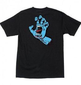 Santa Cruz Skateboards Santa Cruz Screaming Hand Youth T-Shirt - Black