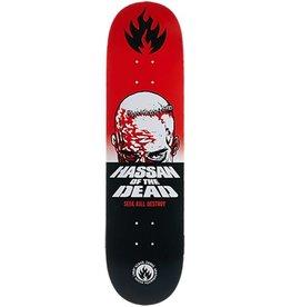 "Black Label Black Label - Omar Hassan ""Dead"" 8.38 x 32.5 Skateboard Deck"