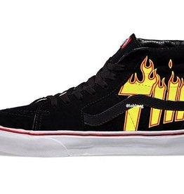 Vans Vans Sk8-Hi Pro Skate Shoes - Thrasher Black