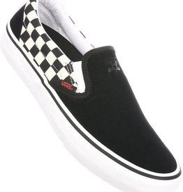 Vans Vans Slip-On Pro Skate Shoes - Thrasher Black/Checkerboard