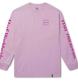 Huf Huf Domestic LS T-Shirt - Pink