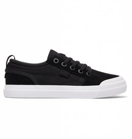 DC DC Evan Youth Skate Shoes - Black/White