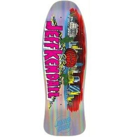 "Santa Cruz Skateboards Santa Cruz Kendall Pumpkin Silver Prismatic Re-Issue 30th Anniv. Deck 10"" x 30.12"""