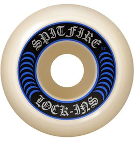 Spitfire Wheels Spitfire Wheels Lock Ins Wheels  White 55mm (Set of 4)