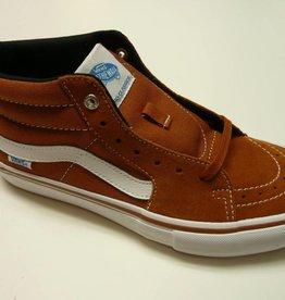 Vans Vans Sk8 Mid Pro Skate Shoes - Glazed Ginger