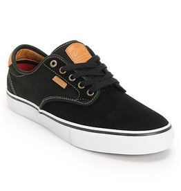 Vans Vans Off The Wall Chima Ferguson Pro Kid's Skate Shoes - Black/Tan/White