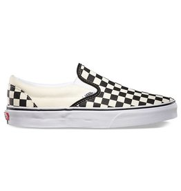 Vans Vans Slip On Pro Skate Shoes - Black/Off White Check