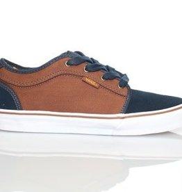 Vans Vans Kid's Chukka Low Kid's Skate Shoes - Navy / Tobacco