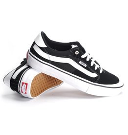 Vans Vans Style 112 Pro Youth Skate Shoes - Black/White