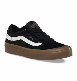 Vans Vans Style 112 Pro Youth Skate Shoes - Black/White/Gum