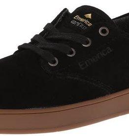 Emerica Emerica The Romero Laced Skate Shoes - Black/Black/Gum