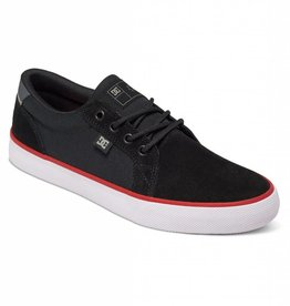DC DC Council S Skate Shoes - Black/White/Red