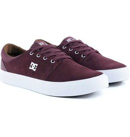 DC DC Trase S Skate Shoes - Ox Blood
