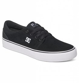 DC DC Trase S Skate Shoes - Black/White/White