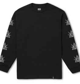 Huf Huf 420 Triple Triangle L/S T-Shirt - Black