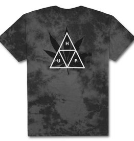 Huf Huf 420 Triple Triangle T-Shirt - Smoke Black
