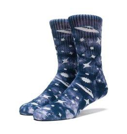 Huf Huf Take Me to Your Dealer Crew Socks - Smoke One Size
