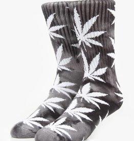 Huf Huf Footwear Tie Dye Plantlife Socks - Black/Grey One Size