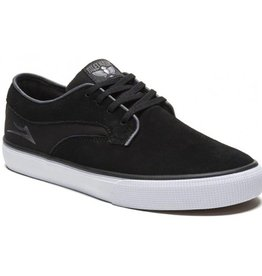 Lakai Lakai Riley Hawk Skate Shoes - Black Suede