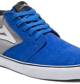 Lakai Lakai Fura High Kids Skate Shoes - Blue/Grey Suede