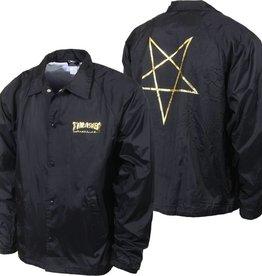 Thrasher Thrasher Pentagram Coach Jacket - Black