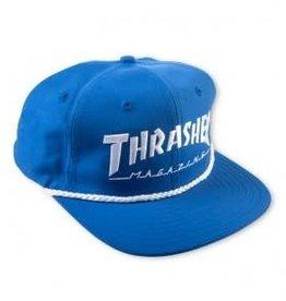 Thrasher Thrasher Rope Snapback Hat - Blue