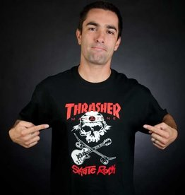 Thrasher Thrasher Skate Rock T-Shirt - Black