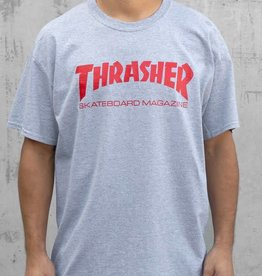 Thrasher Thrasher Skate Mag  T-Shirt - Grey/Red