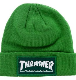 Thrasher Thrasher Patch Beanie Green