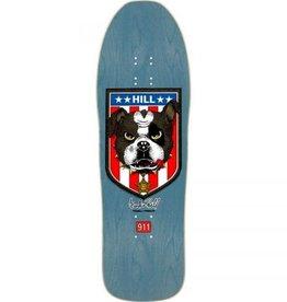 Powell Peralta Powell Peralta Frankie Hill Bulldog Re-Issue Deck Blue 10x31.5