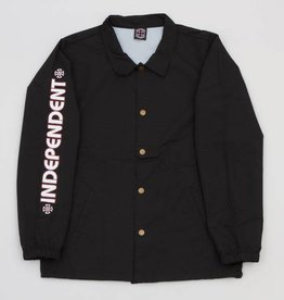 Independent Independent Bar/Cross Coach Windbreaker Jacket - Black