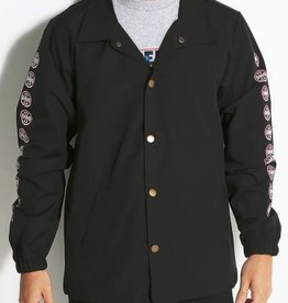 Independent Independent Quatro Coach Windbreaker Jacket - Black