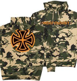 Independent Independent Bar/Cross Pullover Hoodie - Camo