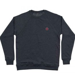Independent Independent Cross Crew Neck Pullover Sweatshirt - Midnight Blue