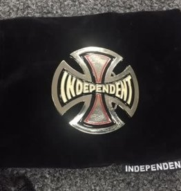 Independent Independent - Cross Logo Belt Buckle with cloth bag