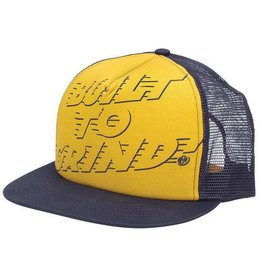 Independent Independent Built to Grind Mesh Hat -  Yellow / Navy
