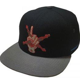 Independent Independent My Name is Gonzales Snapback Hat - Black/Grey