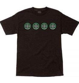 Independent Independent Quatro Regular S/S Men's T-Shirt - Black