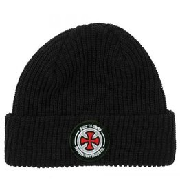 Independent Independent BTG Patch Long Shoreman Beanie - Black