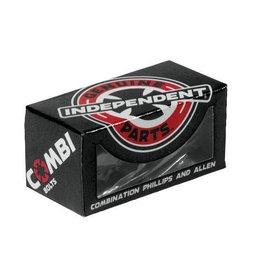 "Independent Independent - Combi Bolts Hardware 7/8"" - Black"