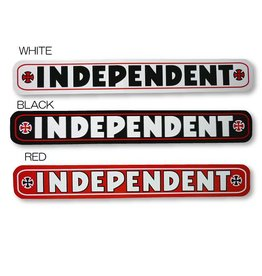 Independent Independent Bar Sticker - Red/White/Black