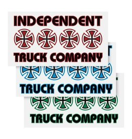 Independent Independent Stacked Sticker - Assorted Color