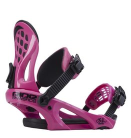 Ride Snowboard co. Ride Snowboard Co. LXH 2015 Women's Bindings - Pink / Rose - Small