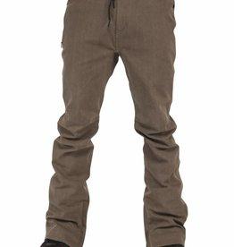 L1 L1 Premium Outerwear Men's Skinny Denim Snowboard Pants 2016 - Black Wash Denim