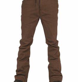 L1 L1 Premium Outerwear Men's Skinny Twill Snowboard Pants 2016 - Coffee Twill