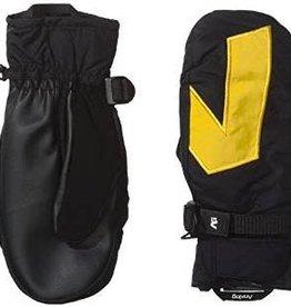 burton Snowboards Analog Gentry Mitt Gloves - True Black / Yellow  XL