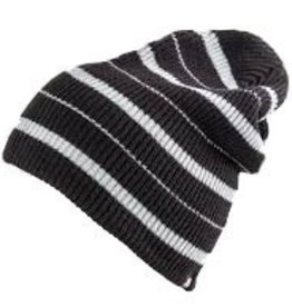 Analog Analog Striped Beanie - Black/Grey